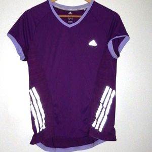 Adidas running top size large